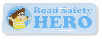 Road Safety Heroes badge